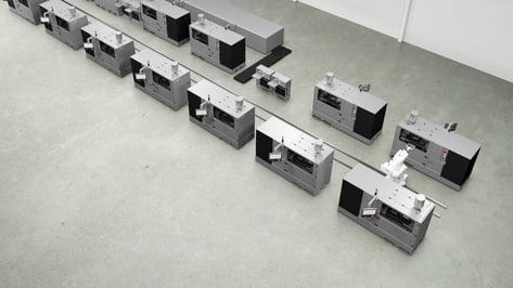 Featured image of Digital Metal Launches Fully Automated No-Hand Production Concept for Metal 3D Printers