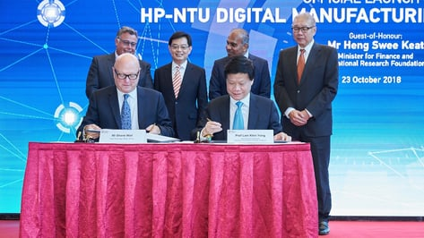 Featured image of HP and NTU Singapore to Launch $84 Million Digital Manufacturing Lab