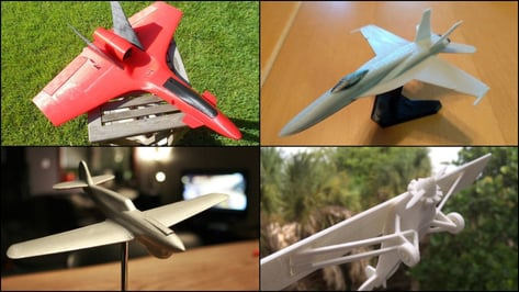Featured image of 3D Printed Plane – 15 Great Curated Models to 3D Print