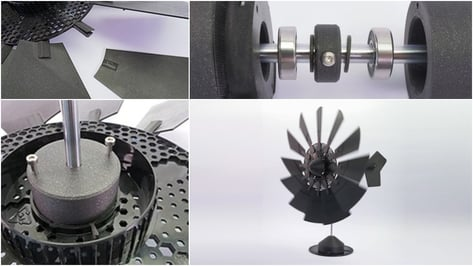 Featured image of [Project] Filament Spool Windmill
