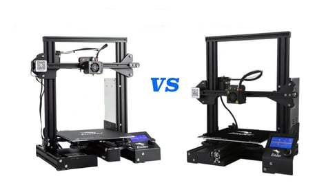 Featured image of Ender 3 vs Ender 3 Pro vs Ender-3X: The Differences