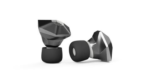 Featured image of 3D Printed HeX Earbuds Provide a Fashionable Fix for Hearing Loss