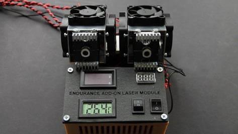 Featured image of Holiday Sale Knocks 40% Off Endurance Lasers Add-On Modules for 3D Printer