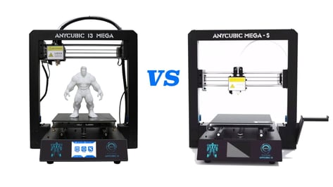 Featured image of Anycubic i3 Mega vs Anycubic Mega-S: The Differences