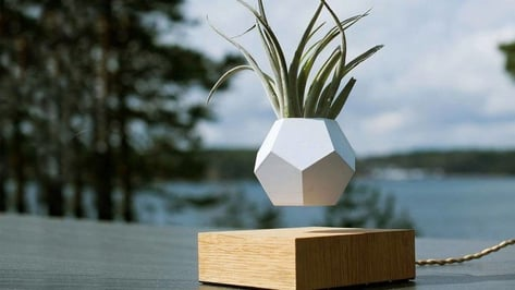Featured image of [Project] 3D Printed Levitating Plant