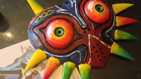 Featured image of [Project] LED-Powered Majora's Mask Replica From Legend of Zelda