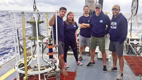 Featured image of URI Students Conquer the Sea: Successfully Print from Resin on the Waves