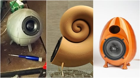 Featured image of 3D Printed Speaker: 6 Projects That Rock the Most