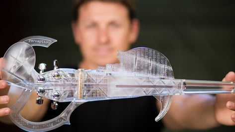 Featured image of 3D Printed Violin: 6 Most Amazing Projects
