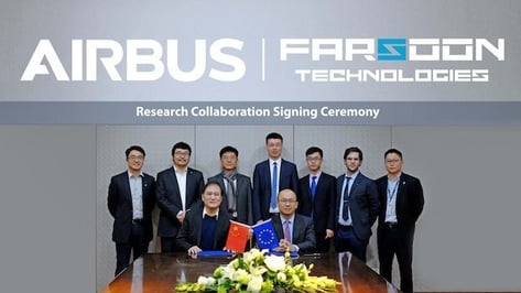 Featured image of Airbus and Farsoon Partner to Create 3D Printing Polymer Material for Civil Aviation