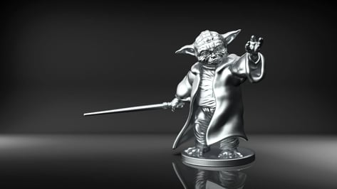 Featured image of Yoda 3D Print – 10 Best Curated 3D Models