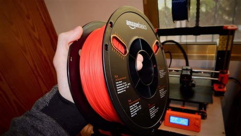 Featured image of 2019 AmazonBasics PLA 3D Printer Filament Review