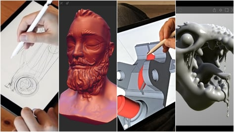 Featured image of 2019 Best 3D Design Apps for 3D Modeling (iPad & Android)