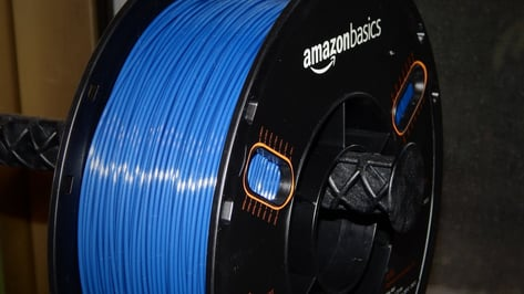 Featured image of 2019 AmazonBasics PETG 3D Printer Filament Review