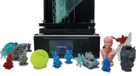 Featured image of Beam3D Debuts Sub-$400 Prism Resin Printer on Kickstarter