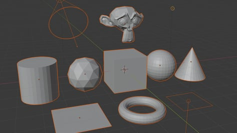 Featured image of Blender: How to Select All Objects – Simply Explained