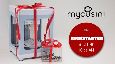 Featured image of Mycusini: Affordable $230 Chocolate Printer on Kickstarter