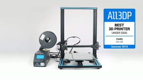Featured image of 2019 Creality CR-10S Review: Great 3D Printer Under $500