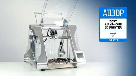 Featured image of 2019 ZMorph VX Review: Best All-in-One 3D Printer