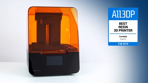 Featured image of 2019 Formlabs Form 3 Review: Best Resin 3D Printer
