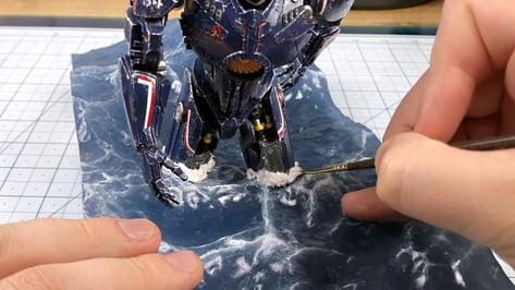 Featured image of Watch This Incredible Pacific Rim Diorama Take Shape