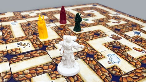 Featured image of Could You Design a Labyrinth Board Game Figure?
