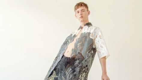 Featured image of Student Creates Compostable 3D Printed Menswear Outfit using 3D Pens and Printer
