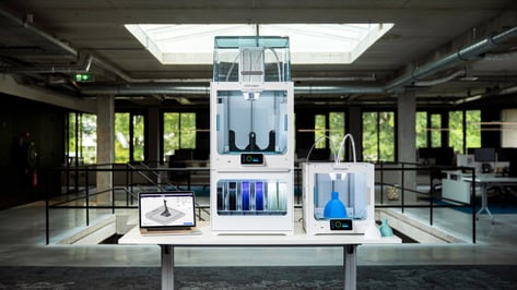 Featured image of Ultimaker Announces New S3 3D Printer and 24/7 Printing Solution for S5