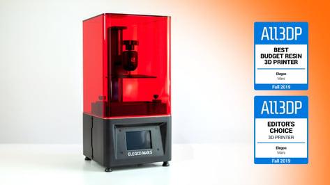 Imagen principal de Elegoo Mars: la mejor impresora 3D de resina barata de 2019