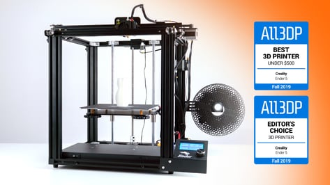 Featured image of 2019 Creality Ender 5 Review: Best 3D Printer Under $500