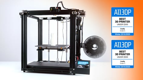 Featured image of Creality Ender 5 Review: Great 3D Printer Under $500