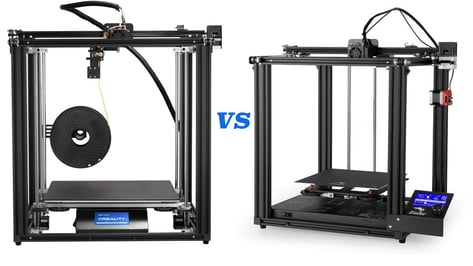 Featured image of Ender 5 / Pro / Plus: The Differences – Simply Explained