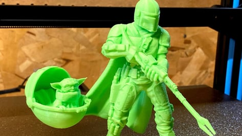 Featured image of Mandalorian 3D Prints: 10 Most Epic 3D Models