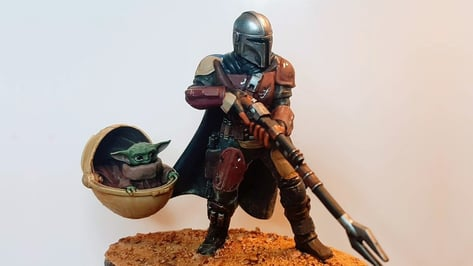 Featured image of Mandalorian 3D Prints: 15 Most Epic 3D Models