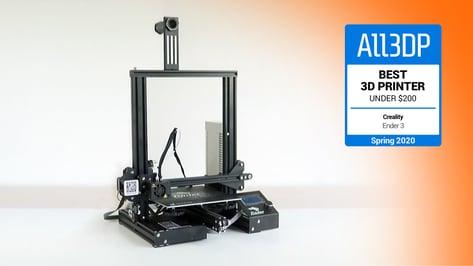 Image de l'en-tête de Creality Ender 3 : meilleure imprimante à moins de 200 €