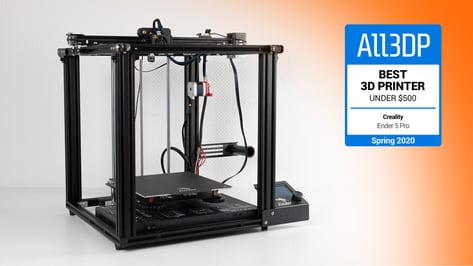 Featured image of Creality Ender 5 Pro Review: Best 3D Printer Under $500