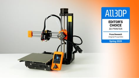 Image de l'en-tête de Original Prusa Mini : toutes les infos sur l'imprimante 3D