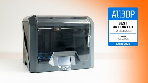 Featured image of Dremel DigiLab 3D45 Review: Best 3D Printer for Schools 2020