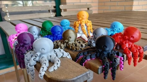 Featured image of 20 Great Print-in-Place Models to 3D Print