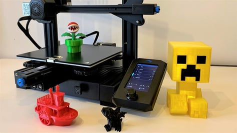 Featured image of Creality Ender 3 V2 Review: Best 3D Printer Under $300