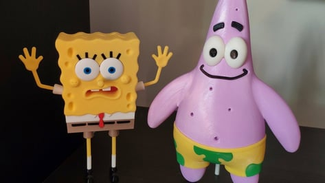 Featured image of 15 Cool Cartoon Models to 3D Print and Play With