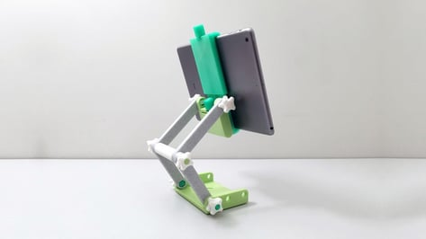 Featured image of 3D Printed iPad Stand: 10 Great 3D Printed Tablet Stands