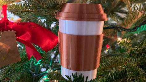 Featured image of Best 3D Printed Christmas Ornaments for 2021