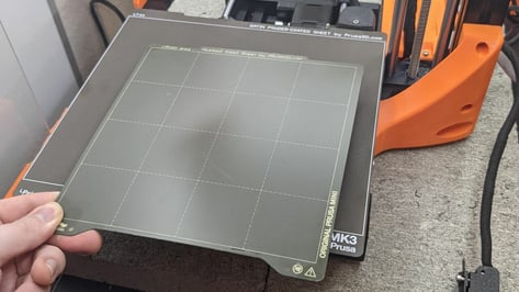 Featured image of Prusa PEI Sheet: Smooth, Textured, & Satin – The Differences