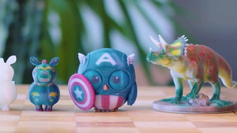 Featured image of Multicolor 3D Print: Types & Printing Guide