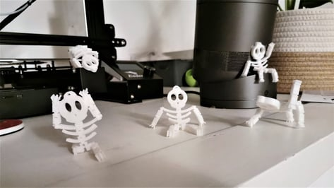 Featured image of 3D Printed Skeleton: Most Impressive Models to 3D Print