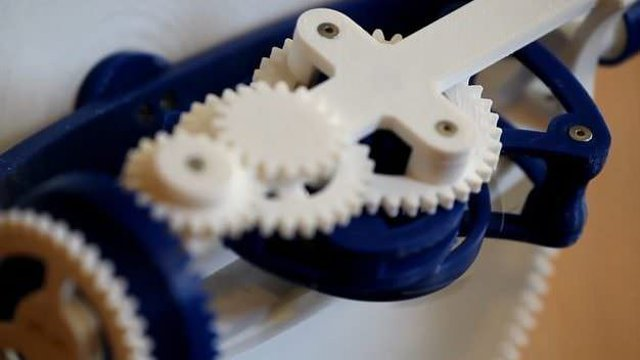Featured image of First 3D Printed Multiaxis Tourbillon Free on Thingiverse