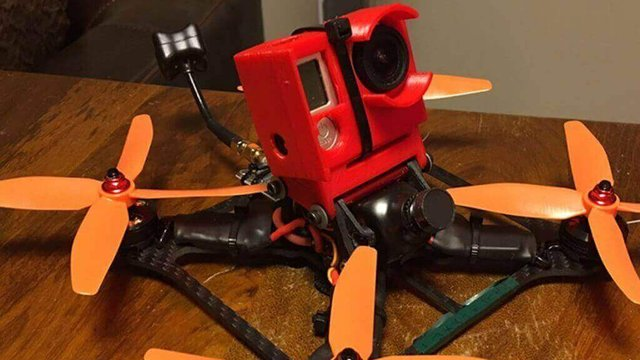 Featured image of 3D Printed GoPro Camera Case Protects Drone During Crash
