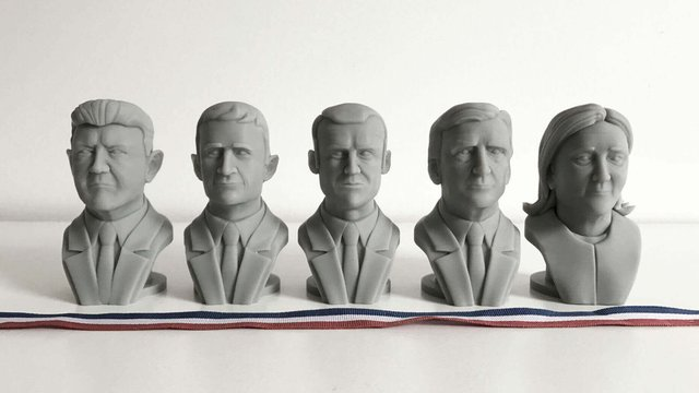 Featured image of Cults3D Brings the Upcoming French Election to Your 3D Printer