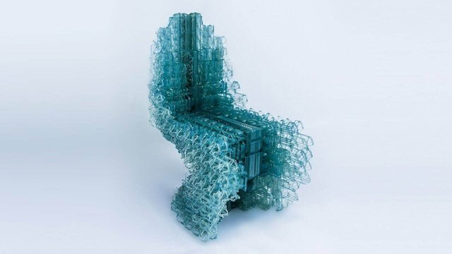 Featured image of This Chair Was 3D Printed In One Continuous Line